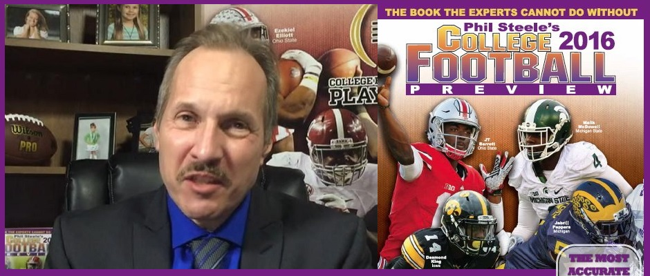 Phil Steele previews college football 2016 – DrivewithJack com